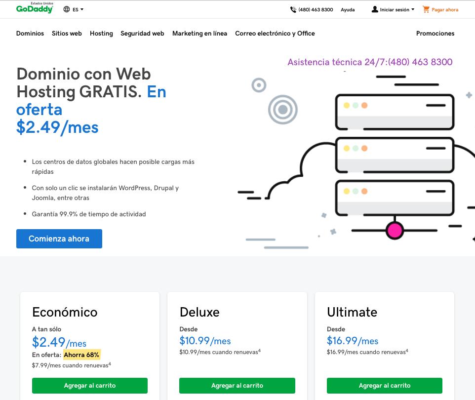 dominio-y-hosting-en-godaddy